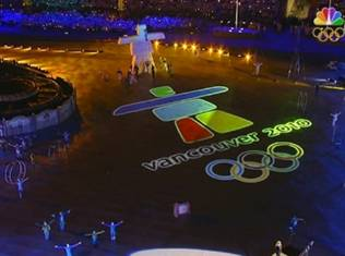 2010 Winter Olympics at Vancouver, Canada