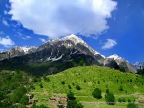 Swat Region in North West Frontier Province in Pakistan