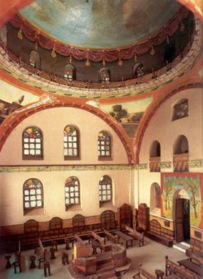 Interior of New Hurva Synagogue
