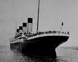 The Last Image of the Titanic