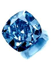 Flawless Blue Diamond
