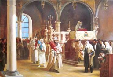 Dancing with Torah Scrolls on Simchat Torah