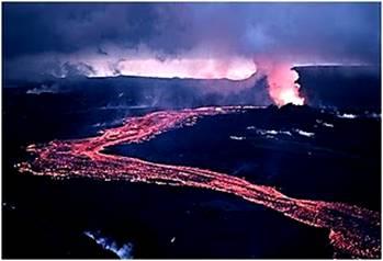 River of Fire Eyjafjallajokull Volcano
