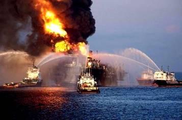 Deepwater Horizon Oil Platform 001