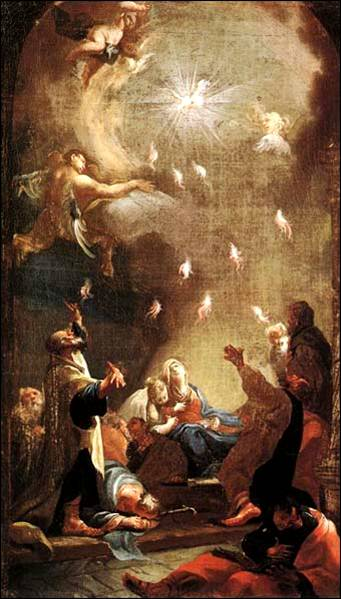 Holy Spirit at Pentecost