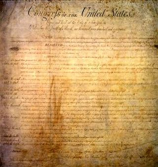 Wrong with America's old document