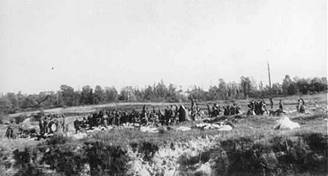 Jews shot in the Ravine at Babi Yar