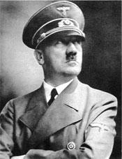 German Nazi Fuehrer Adolph Hitler