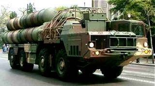 Russian S-300 Anti-Aircraft Missiles