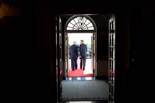 Netanyahu Obama White House