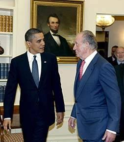 Obama and King Carlos