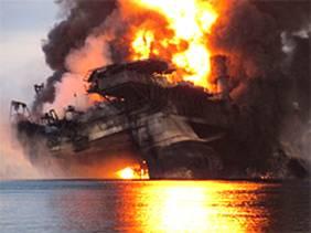 Deepwater Horizon Oil Platform 002