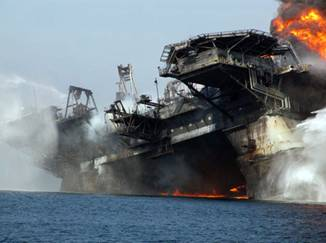Collapse of Deepwater Horizon