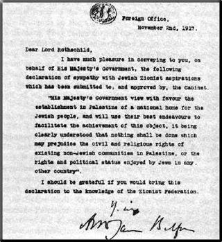 The Balfour Agreement