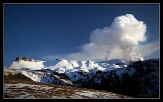 Volcano eruption Eyjafjallajökull Iceland