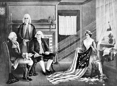 George Washington, Betsy Ross