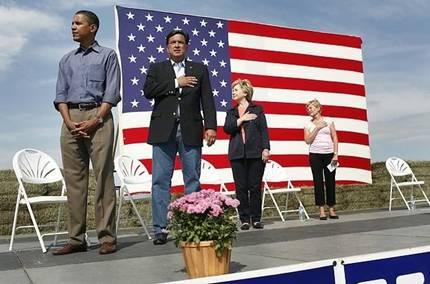 Presidential Candidate Barak Hussein Obama