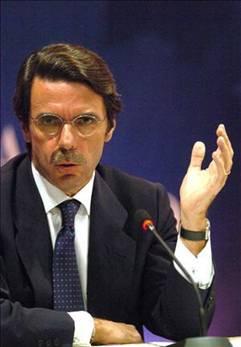 Spanish Prime Minister José María Aznar