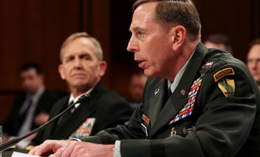 Centcom commander General David Petraeus