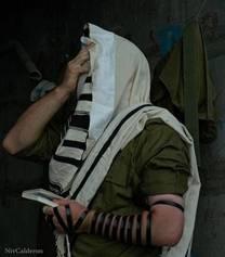The Praying Israeli Soldier