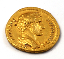 Golden Coin Antoninus Pius
