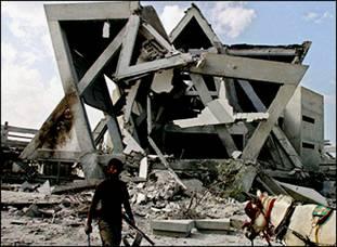 Destroyed Jewish Synagogue